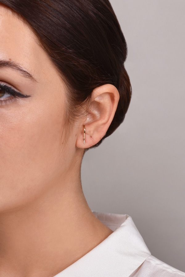 White/Space - Forme Suspender Earrings
