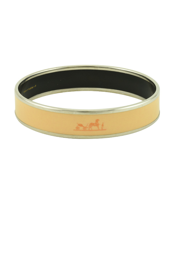 Hermes - Caleche Bracelet (Light Neon Peach)