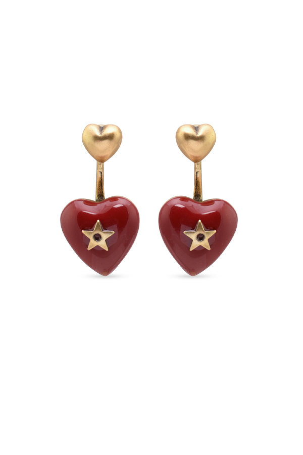Christian Dior - Dioramour Heart Earrings