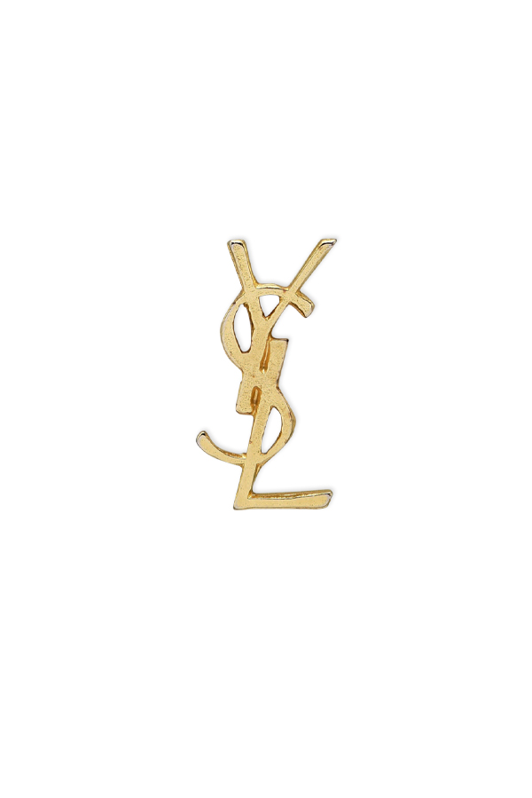 Yves Saint Laurent - YSL Monogram Pin  Vintage Logo Pin  View 1