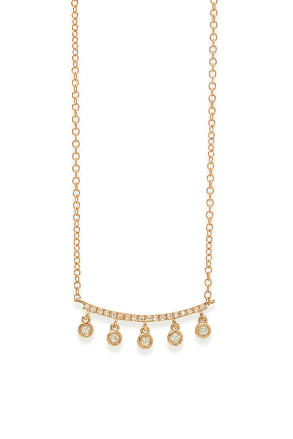 Do Not Disturb - The Greenville Necklace (14k Yellow Gold and Diamonds)