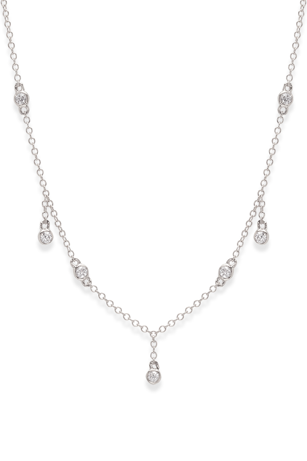Do Not Disturb - The Tuscany Necklace (14k White Gold and Diamonds)