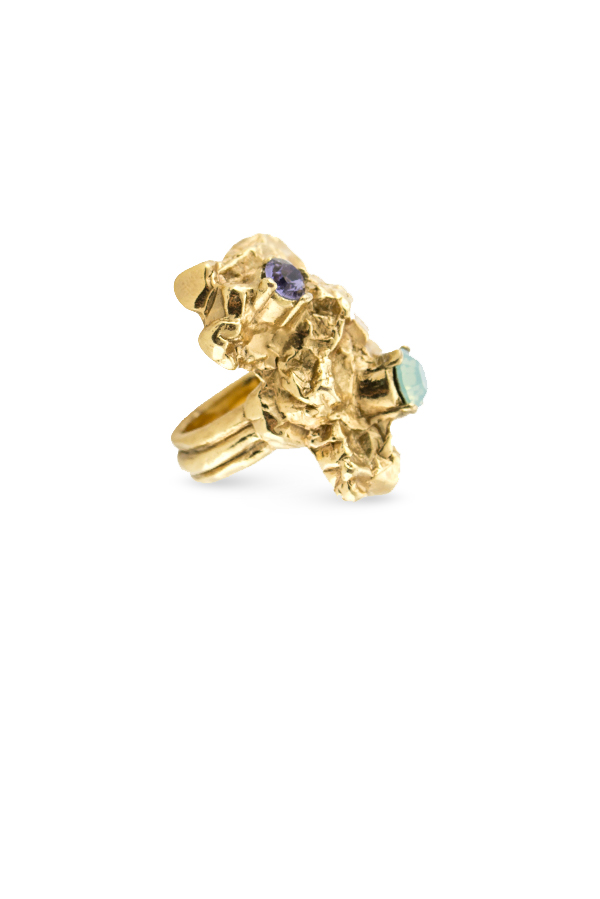 Yves Saint Laurent - 1689231852_Switch Jewelry YSL Yves Saint Laurent Arty Too Ring  Multi Stone  3 jpg