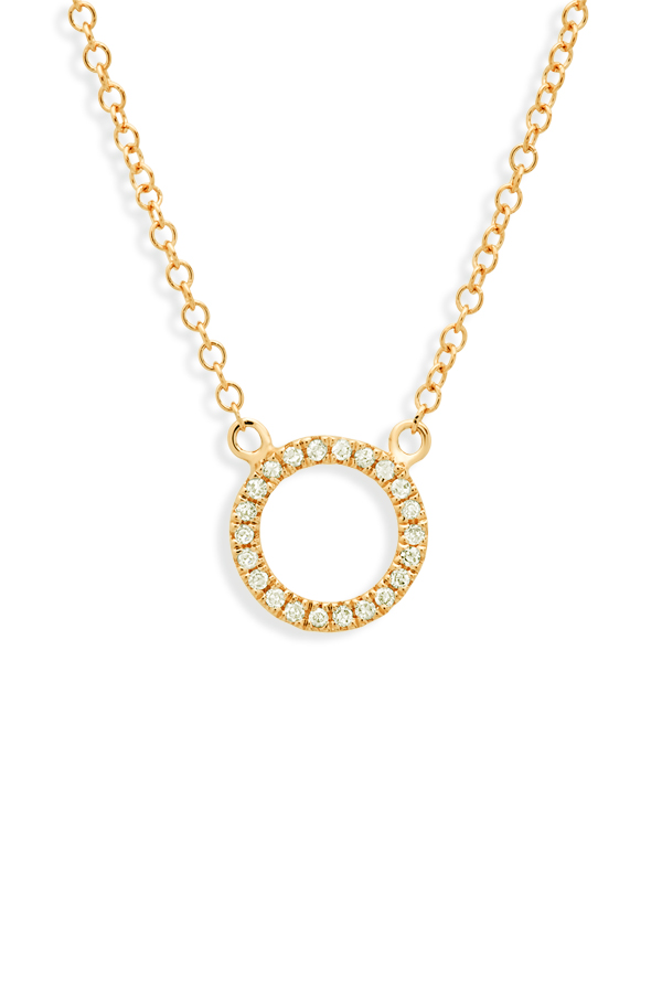 Do Not Disturb - The Zurich Necklace (14k Yellow Gold And Diamonds)