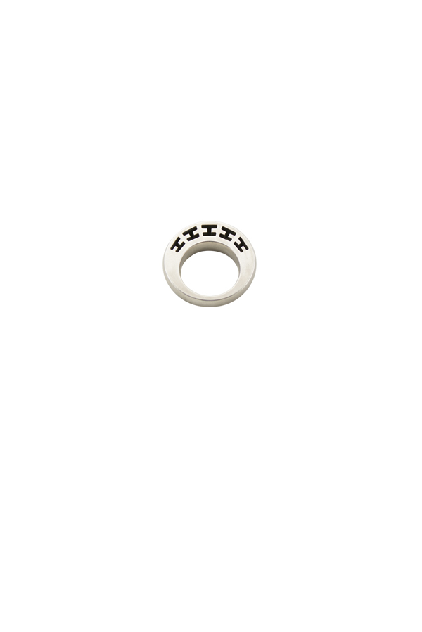 Hermes - H Logo Cutout Ring - Size 5