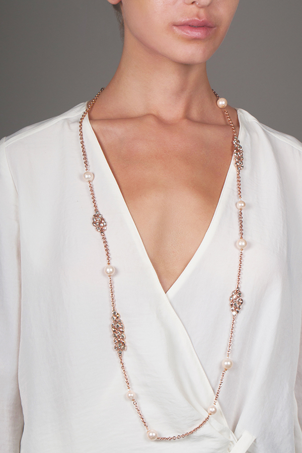 Alexis Bittar - Miss Havishim Long Station Necklace