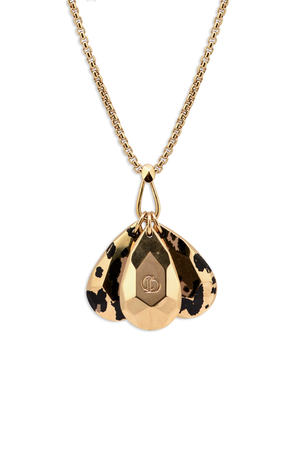Christian Dior - Animal Print Pendant Necklace