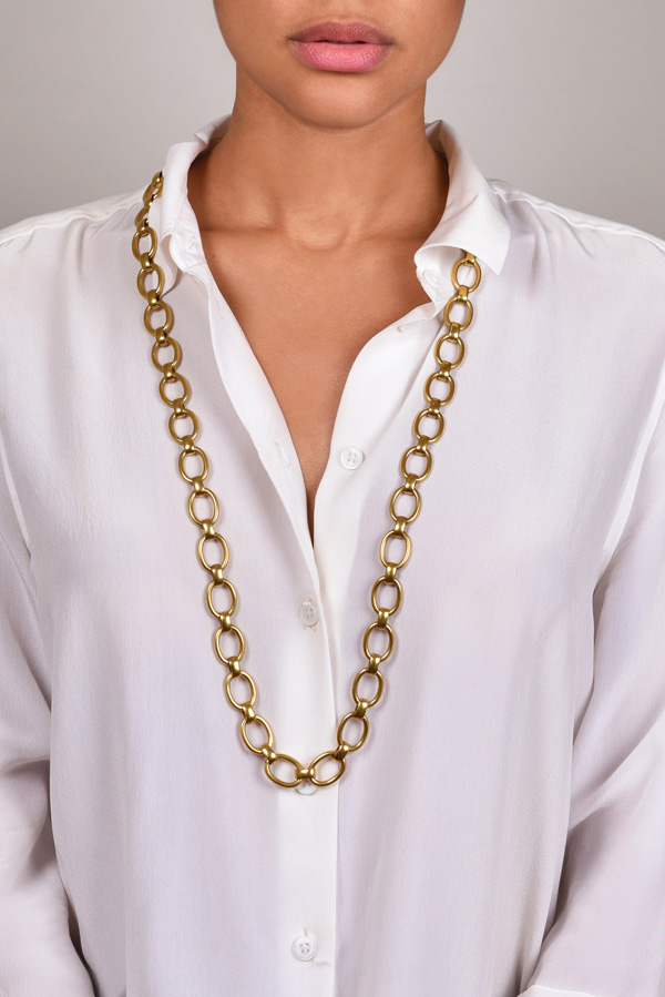 Yves Saint Laurent - Chain Link Necklace/Belt