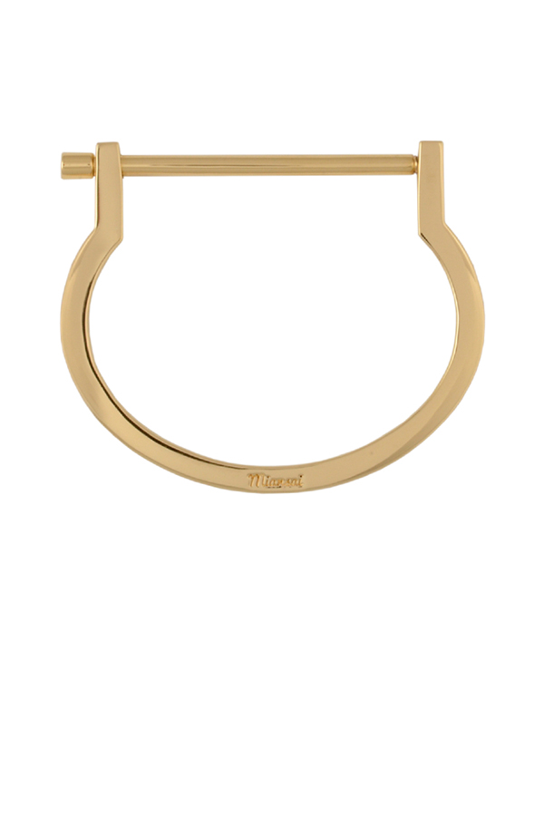 Miansai - Modern Screw Cuff (Yellow Gold)