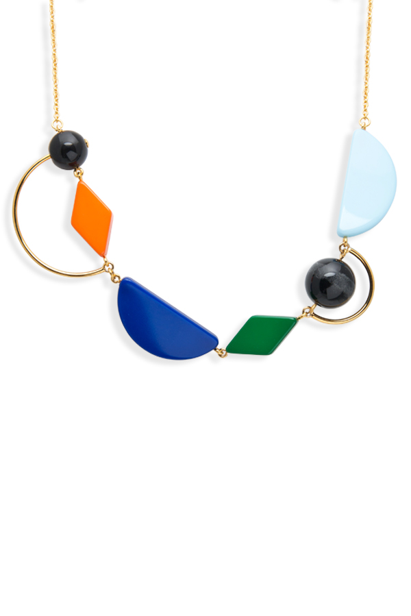Marni - Geometric Design Necklace