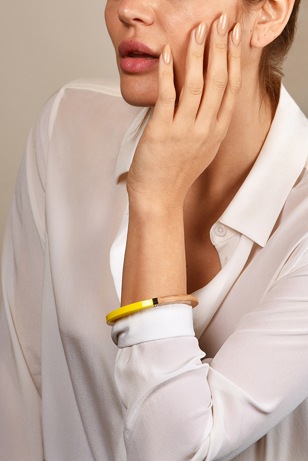 Louis Vuitton - Magnetic Yellow Colorama Bangle View 2