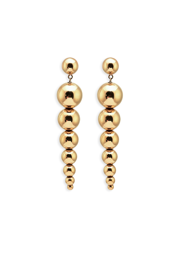 Agmes - Ana Earrings - Gold Vermeil