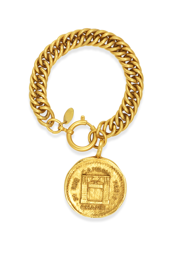 Chanel - Vintage 31 Rue Cambon Graphic Charm Bracelet View 1