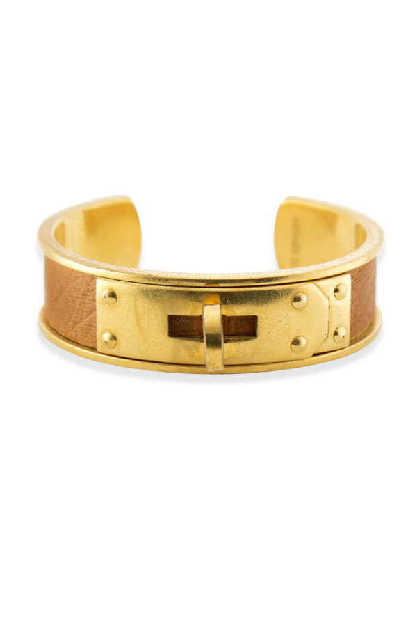 Hermes - Kelly Cuff  Camel  View 1