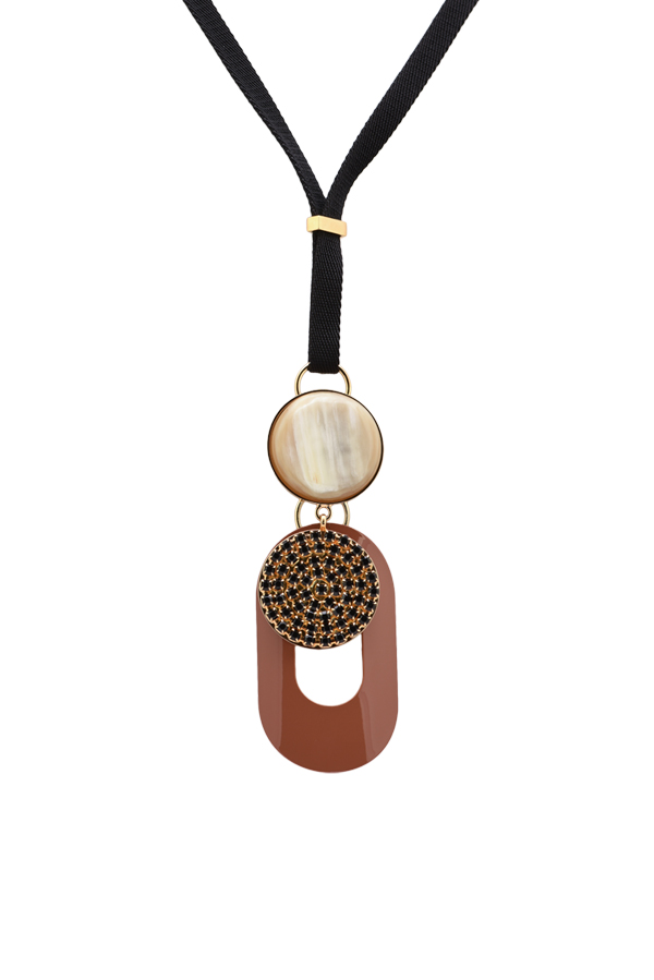 Marni - Abstract Gold-Tone Pendant Necklace