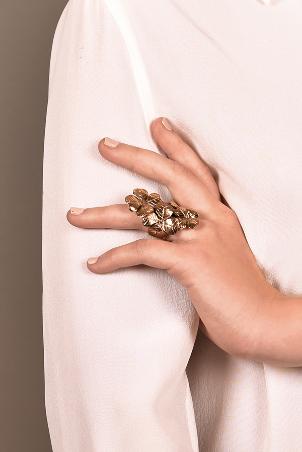 Yves Saint Laurent - Floral Ring