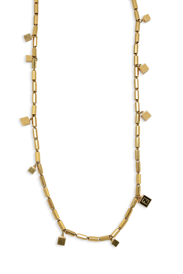 Fendi - Cube Station Logo Necklace