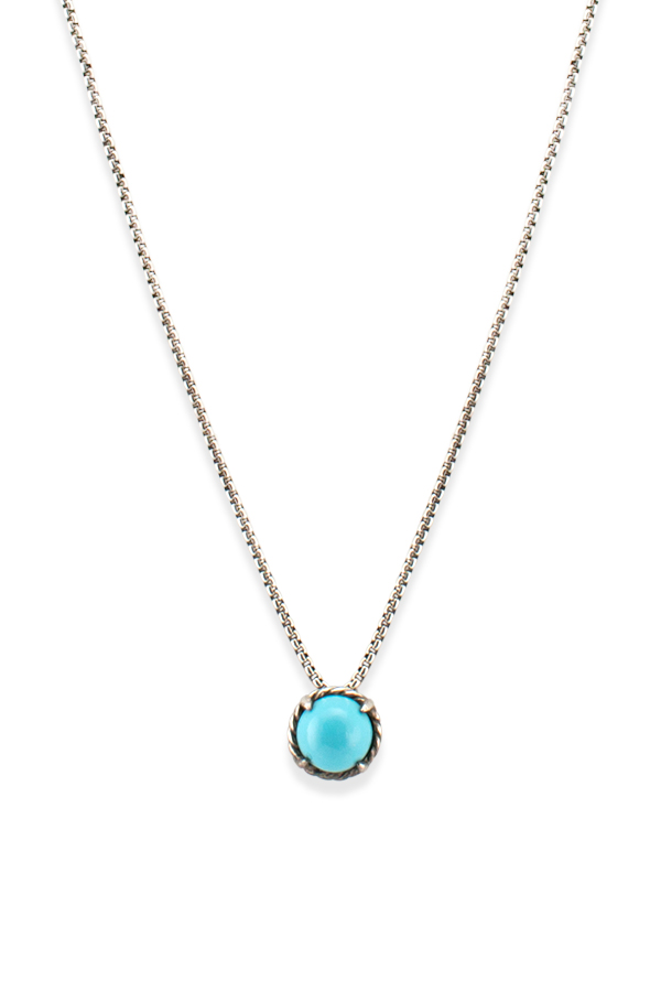 David Yurman - Chatelaine Necklace (Turquoise) View 1