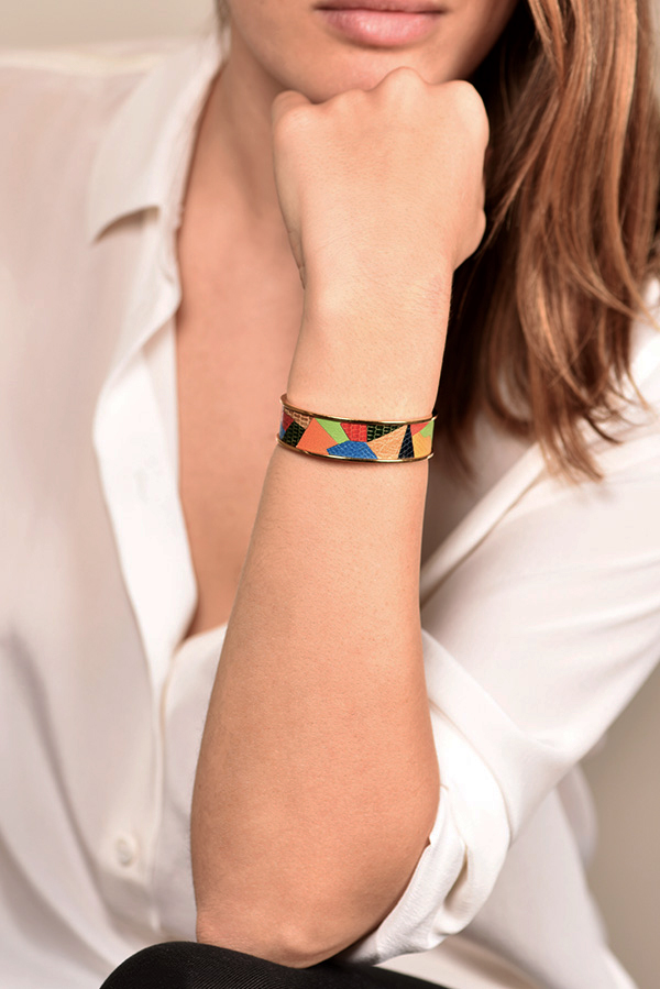 Hermes - Kelly Cuff     Multicolor  View 2
