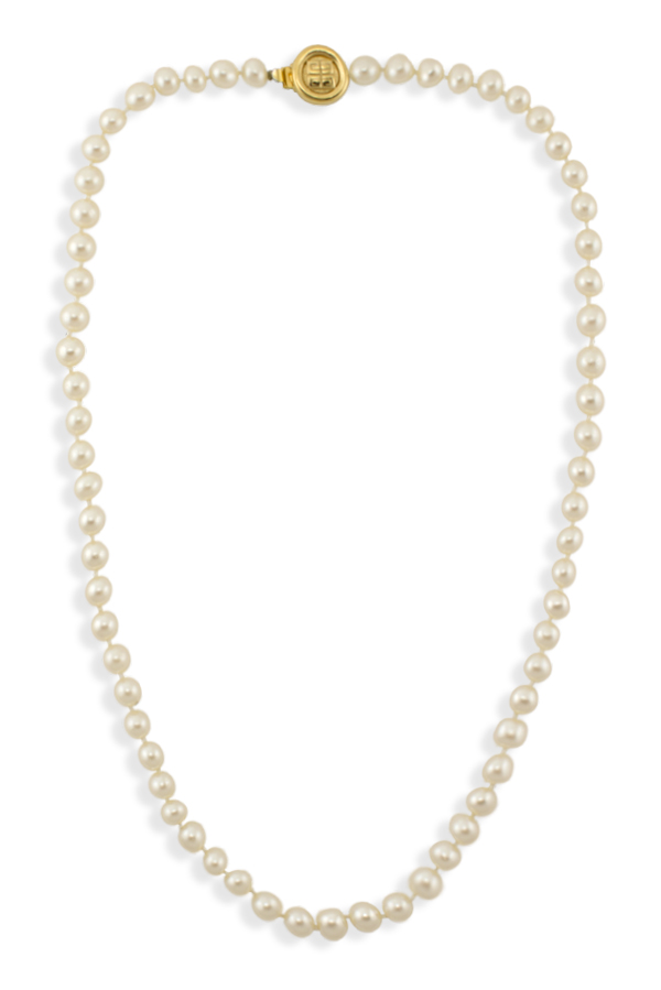 Givenchy - Faux Pearl Strand Necklace
