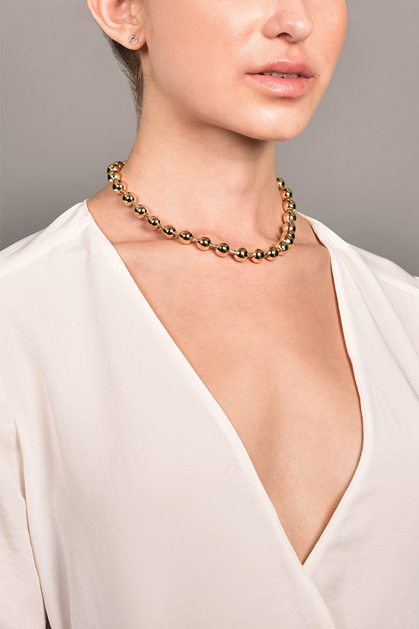 Jennifer Fisher - Orb Chain Necklace