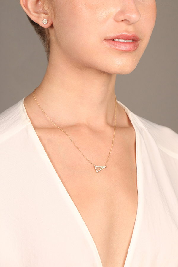 Do Not Disturb - The Los Cabos Necklace (14k Yellow Gold and Diamonds)