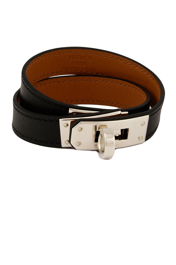 Hermes - Kelly Double Tour Leather Bracelet