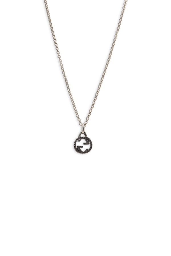 Gucci - Interlocking G Pendant Charm Necklace View 1