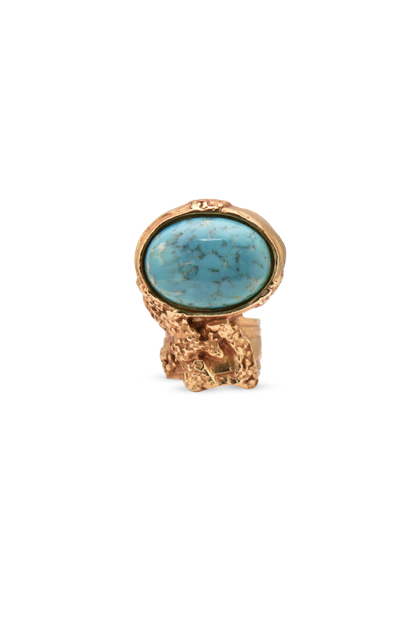 Yves Saint Laurent - Arty Oval Ring - Size 5.75
