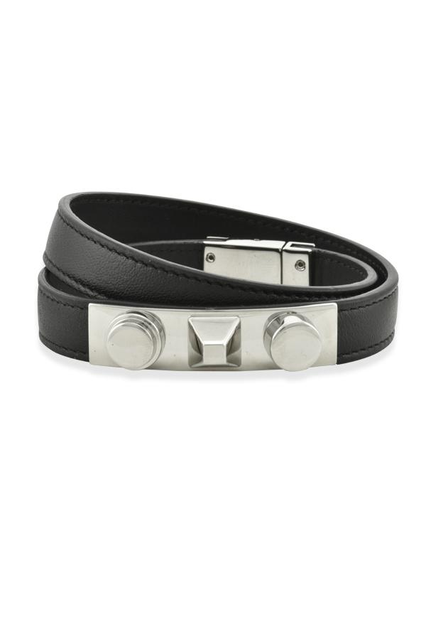 d6ffa2643a Yves Saint Laurent 3 Clous Double-Wrap Bracelet | Rent Yves Saint ...