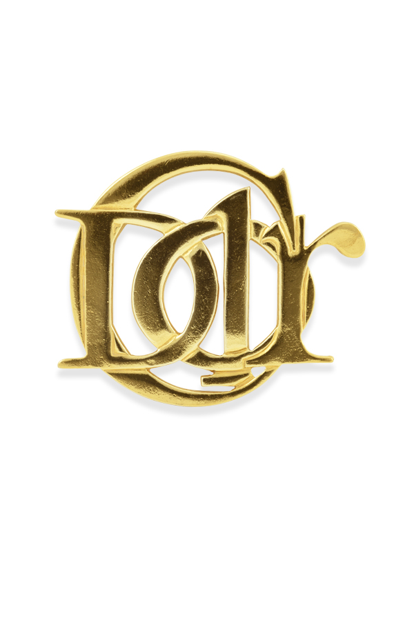 Christian Dior - Vintage Monogram Brooch View 1