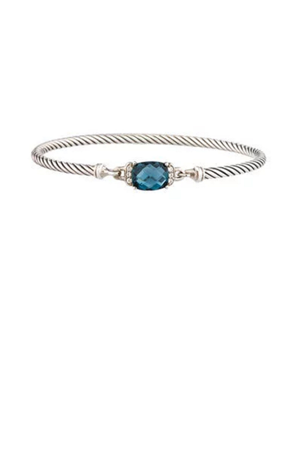 David Yurman - Wheaton Bracelet (Blue Topaz and Diamonds)
