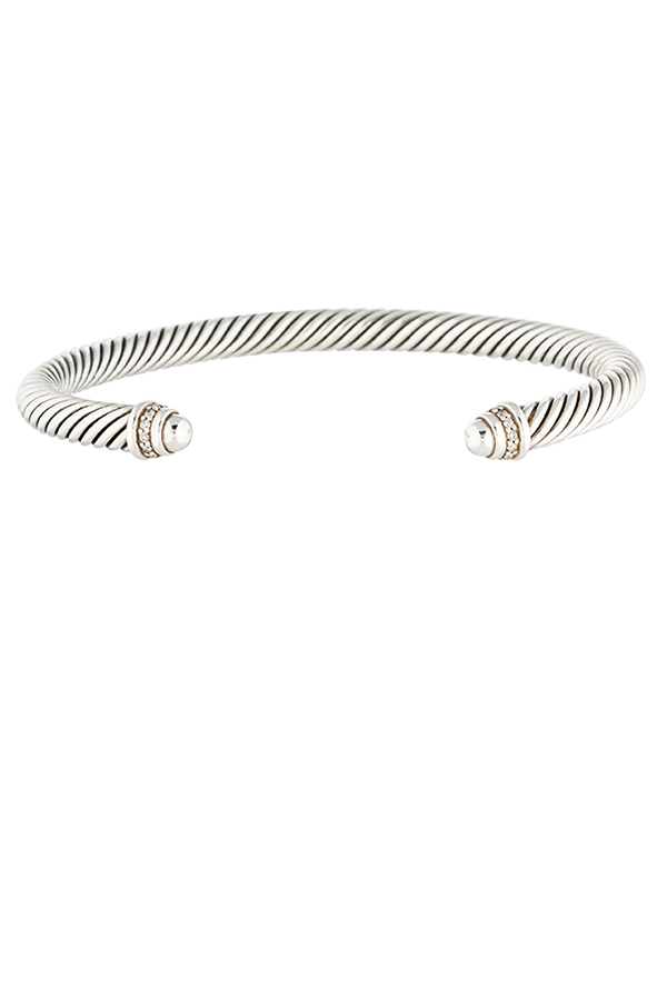David Yurman - 5mm Cable Bracelet (Silver)
