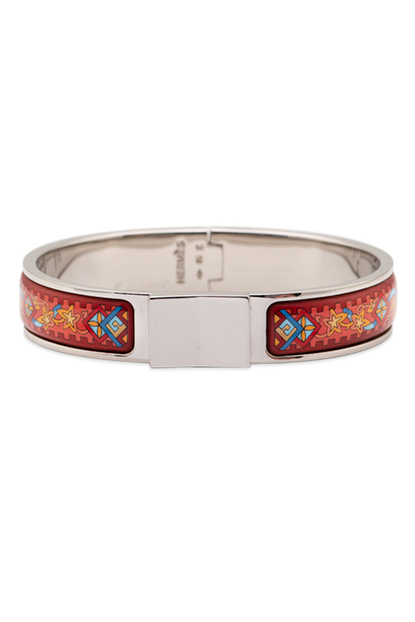 Hermes - Enamel Hinged Bracelet  Viking Hat  View 1