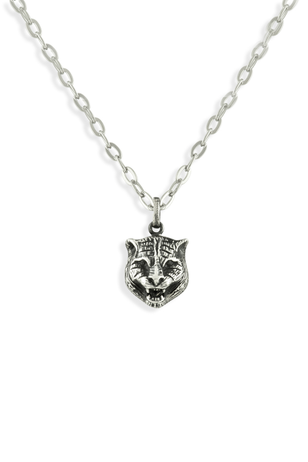 Gucci - Feline Charm Pendant Necklace View 1