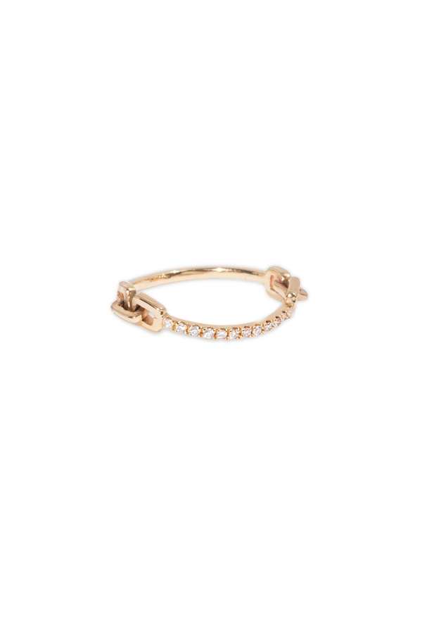 Sophie Ratner - Pave Hinge Ring   Size 6 View 1