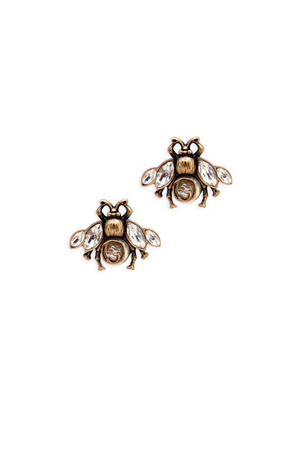 Gucci - Crystal Bee Earrings View 1