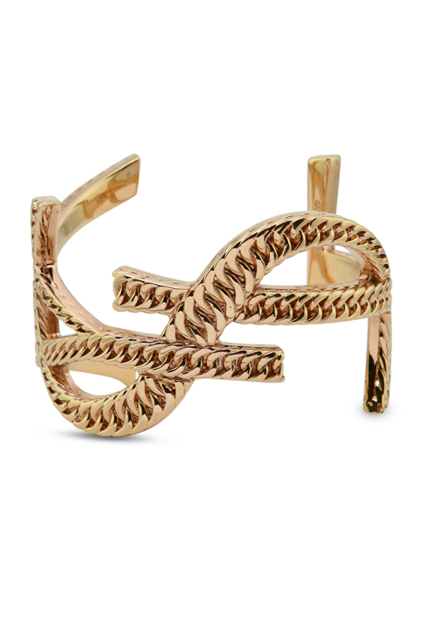 Yves Saint Laurent - Monogram Bracelet (Gold/Curb Chain) - Medium