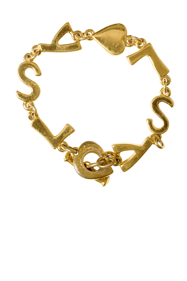 Yves Saint Laurent - Vintage Linked Logo Bracelet