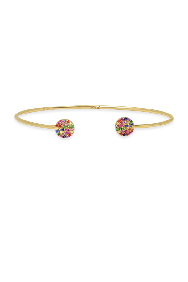 Do Not Disturb - The Ibiza Rainbow Bracelet (14k Yellow Gold)