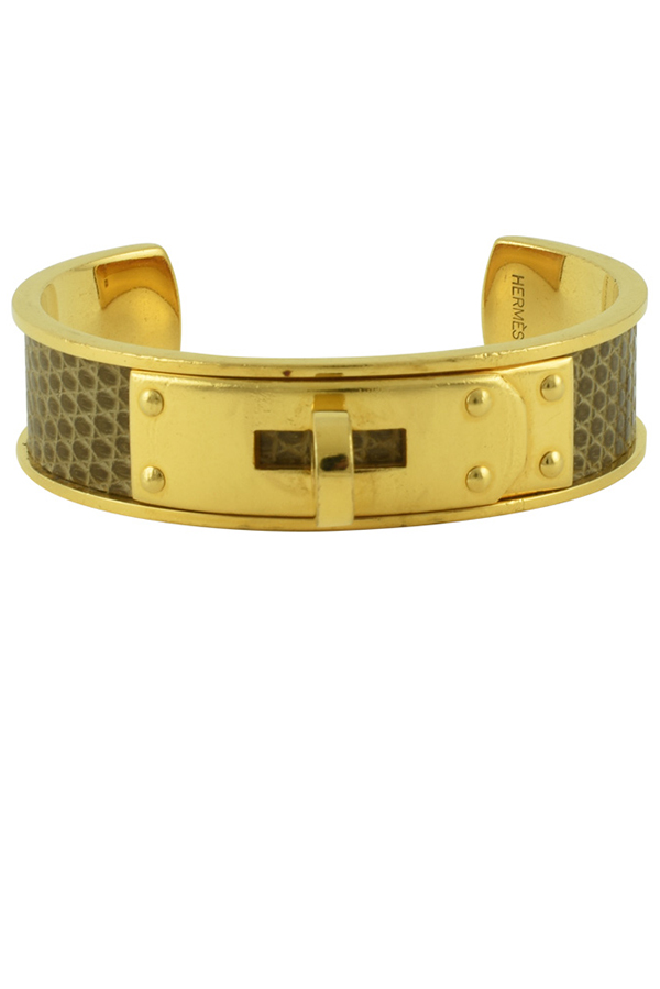 Hermes - Kelly Cuff  Lizardskin  View 2