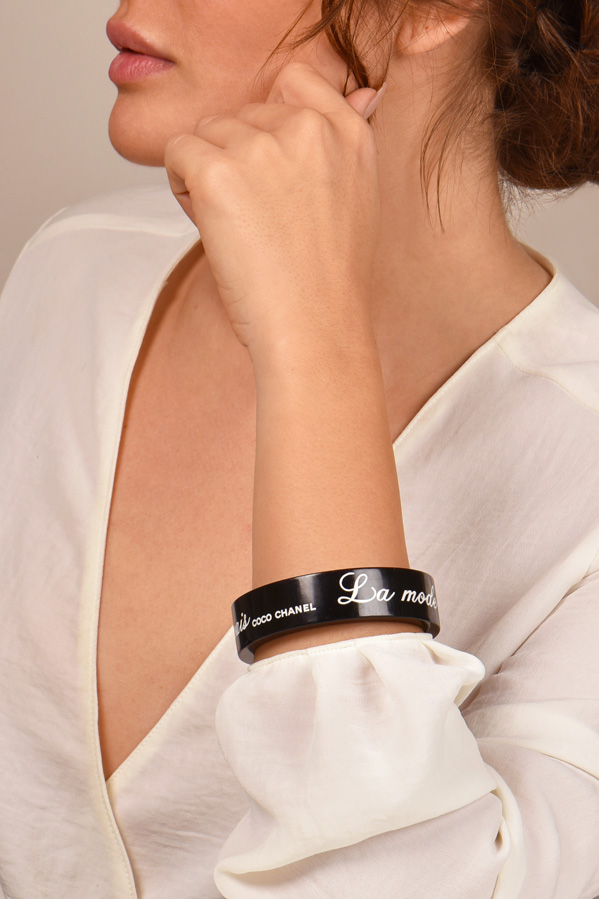 Chanel - Resin La Mode Se Demode Bracelet