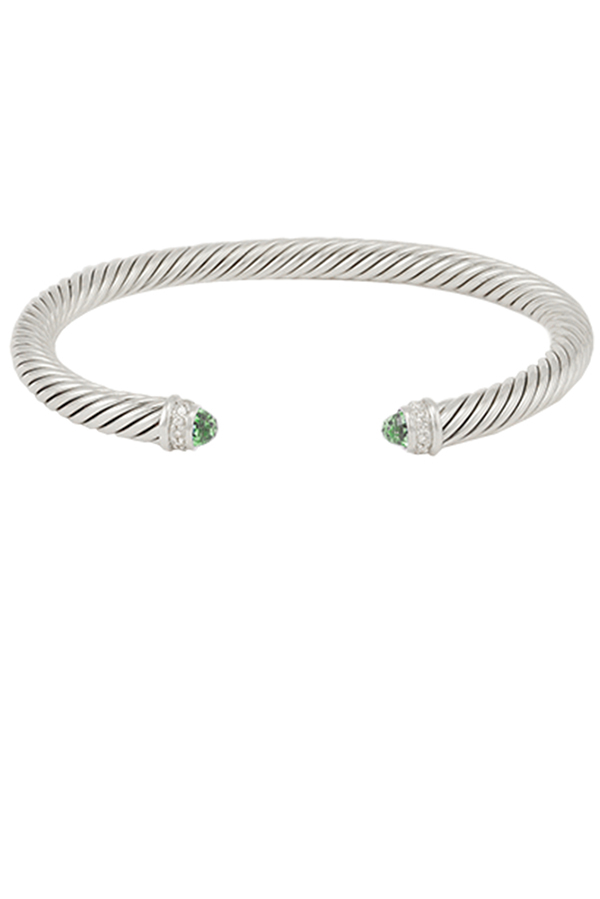 David Yurman - 5mm Cable Bracelet (Prasiolite)