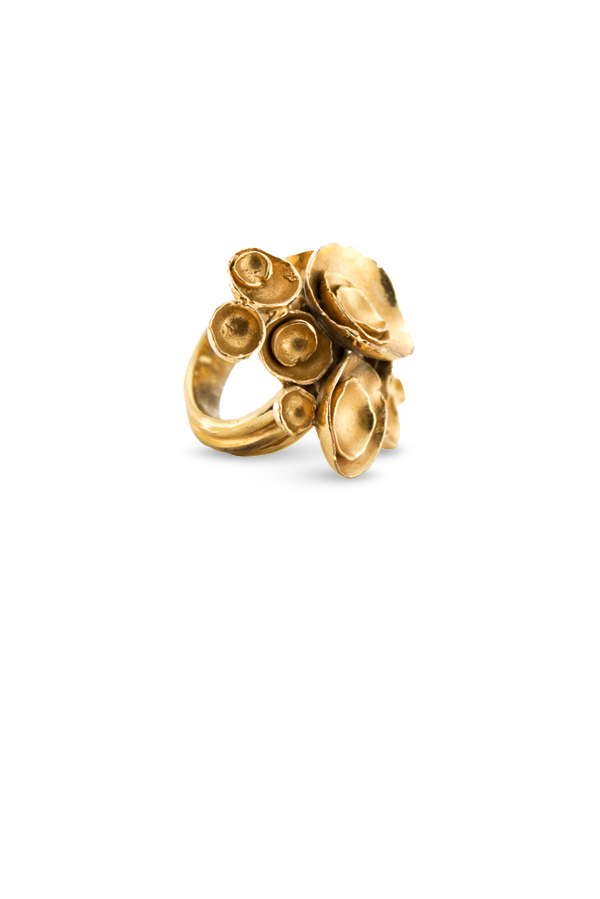 Yves Saint Laurent - Arty Flower Ring   Size 6 View 2