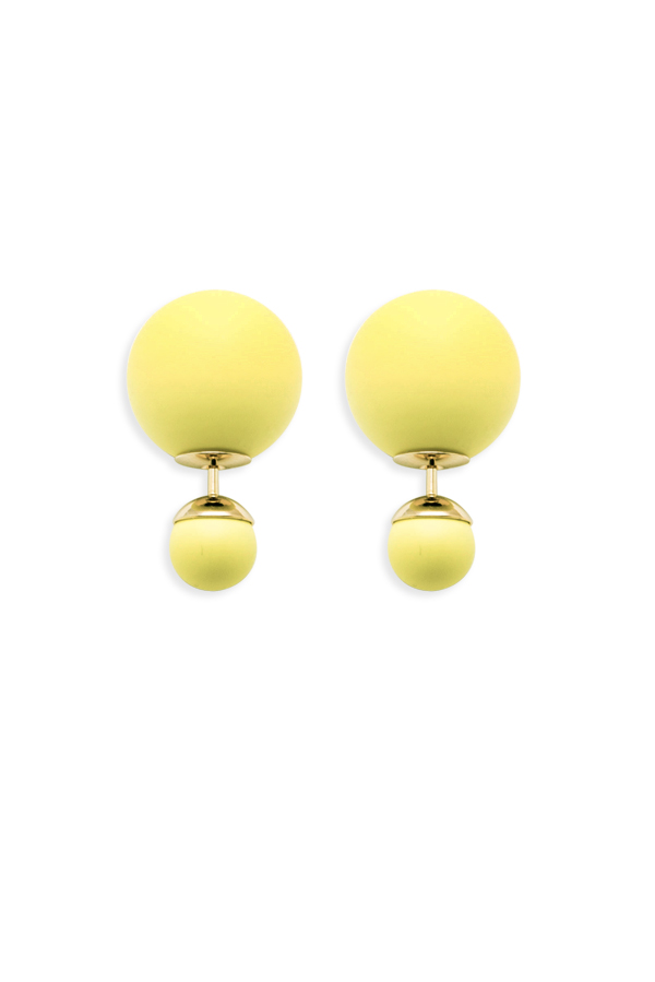 Christian Dior - Mise En Dior Tribale Earrings (Yellow)