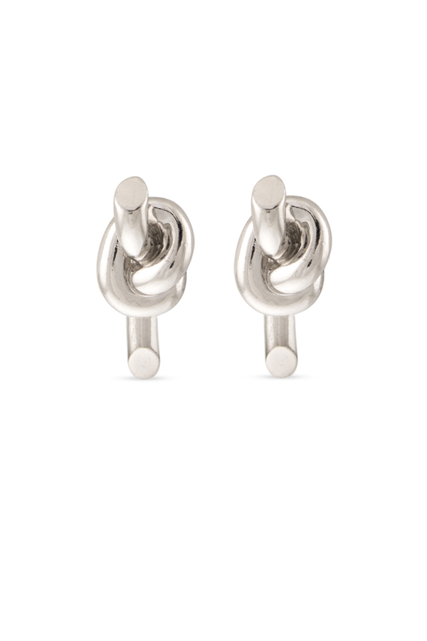 Balenciaga - Knot Stud Earrings View 1