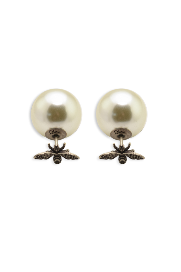 Christian Dior - Tribale Bee Earrings - Silver