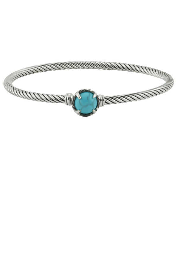 David Yurman - Chatelaine Bracelet  Turquoise  View 1