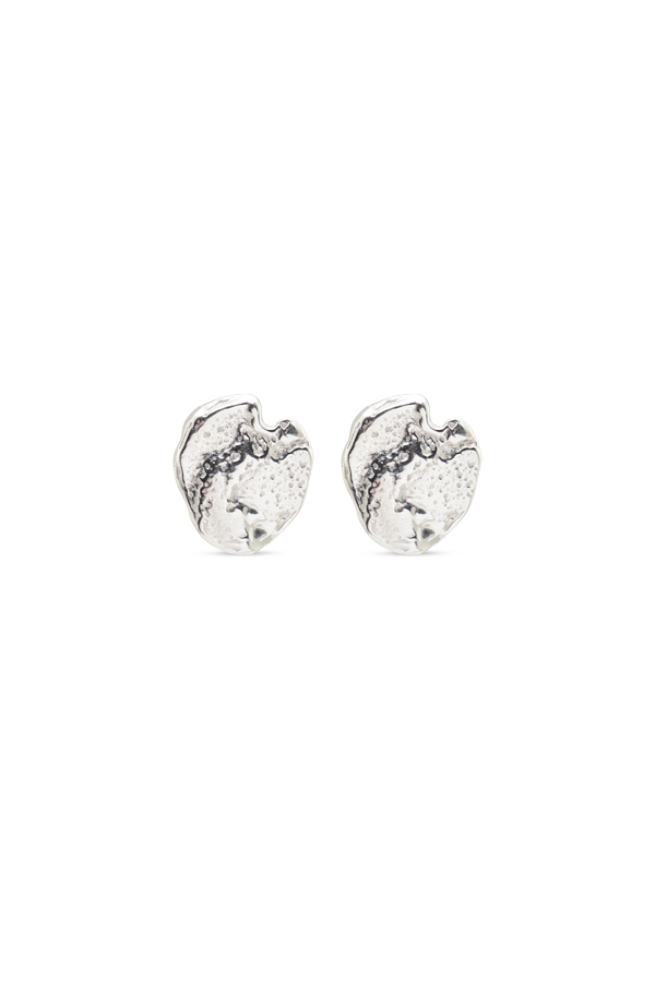 Rebecca Pinto - Myrtle Disc Earrings (Sterling Silver)
