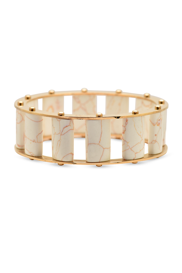 Lele Sadoughi - Marble And Howlite Bangle